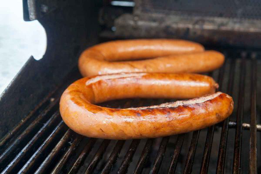 How to grill polish sausage