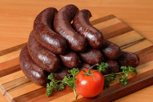 Kiszka (Barley Sausage)