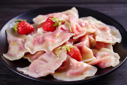 Strawberry Pierogi