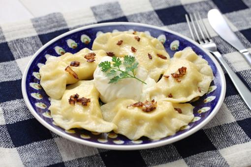 Potato & Cheddar Pierogi