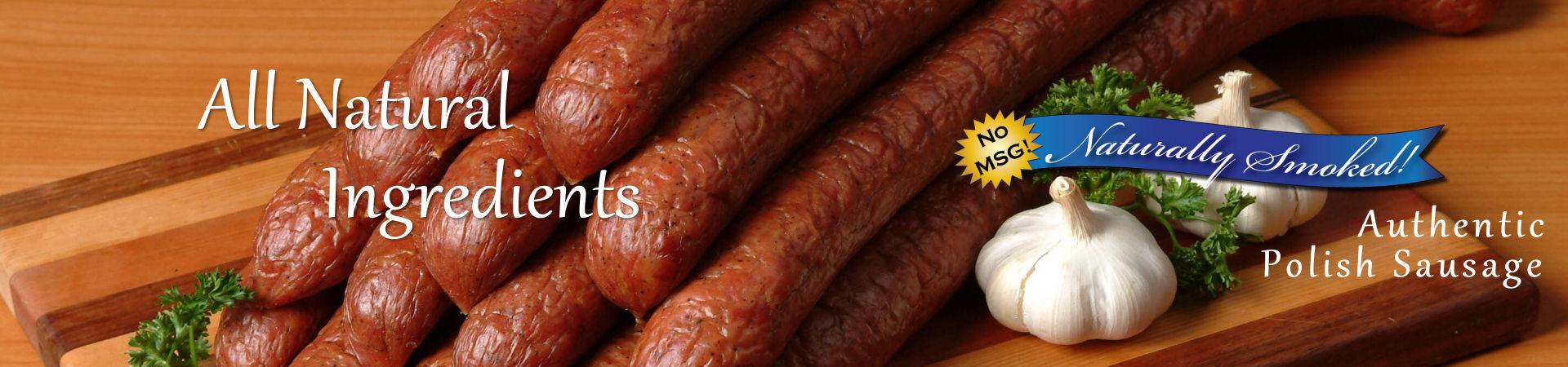 Joe and Franks Sausage Company - Chicago Style Polish Sausage